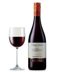 Estevez Chilean Pinot Noir - ALDI UK- Price per bottle  £4.79