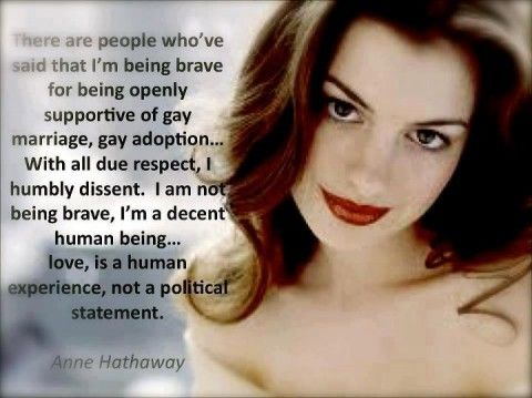 Truth: Annehathaway, Makeup, Quote, Celebrities, Beauty, Beautiful People, Photo, Anne Hathaway