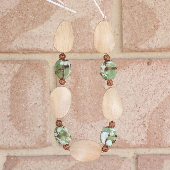 Necklaces For Women, Wooden Necklaces, Jewellery Handmade, Earths Inspiration