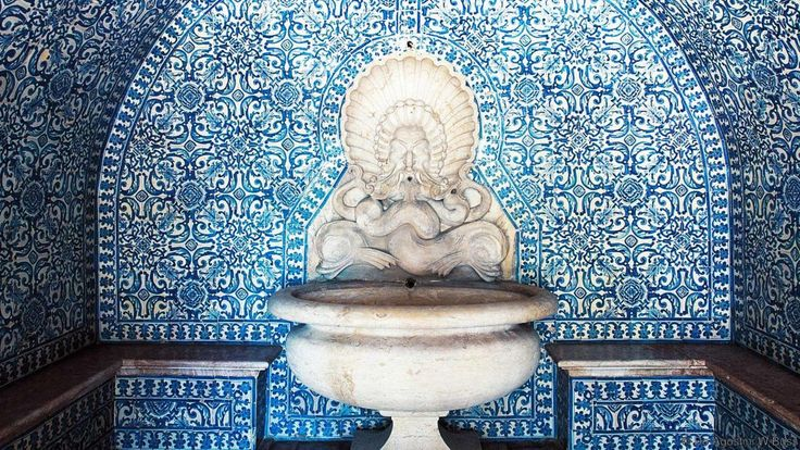 Fronteira Palace fountain (Credit: De Agostini/W Buss)
