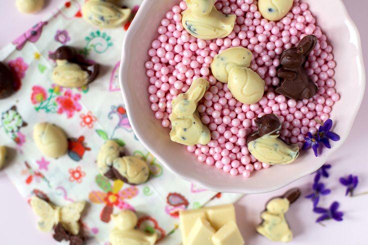 Húsvéti csokinyuszik és tojások, laktózmentesen