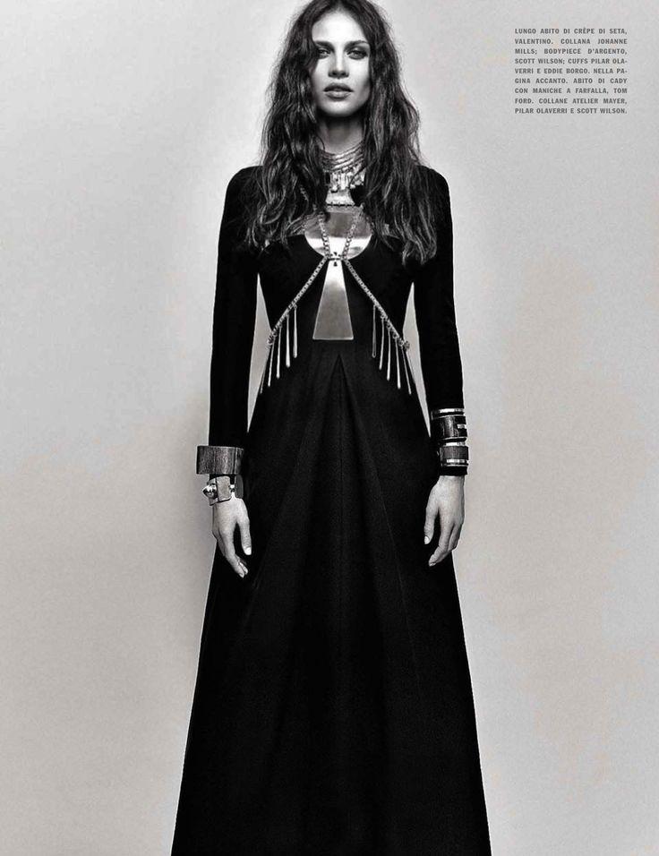 free attitude: aymeline valade by emma summerton for vogue italia may 2013
