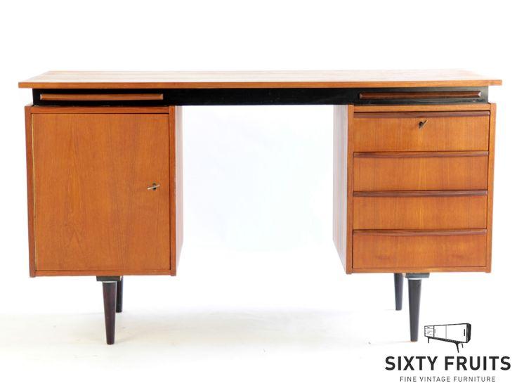 Cees Braakman bureau 525 #Vintage #Retro #Bureau #SixtyFruits #60s #Desk #Deens #gerestaureerd #opgeknapt #arnhem #ambacht #ontwerp