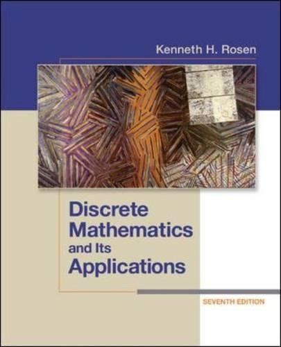Discrete Mathematics and Its Applications Seventh Edition (Higher Math)