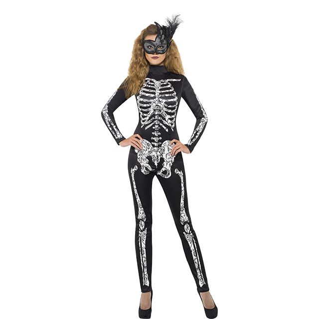 Halloween is coming! Dress up like the sexiest skeleton of all times!