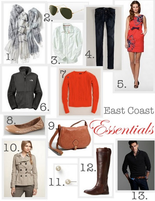 East Coast fashion courtesy of Lindsey