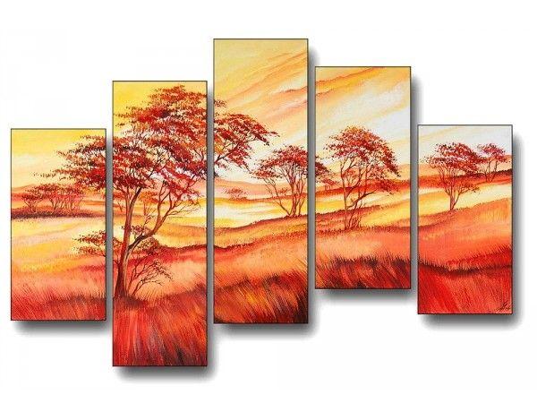 Hangulatos otthonok modern vászonképekkel. A természet szépsége nappalid falán dekorációs festményekkel.