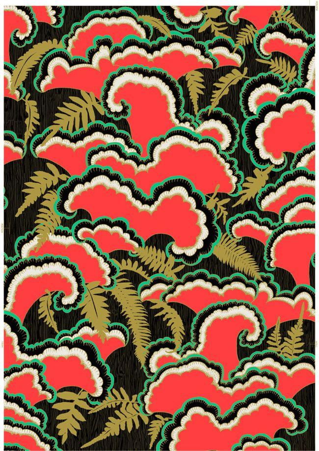 llewmejia - Blog - WallpaperWednesday: Beautiful Wallpapers, Art Patterns, Prints Patterns, Design Colors, Wallpapers Wednesday, Lush Wallpapers, Fabrics Wallpapers, Rich Colors, Patterns Prints