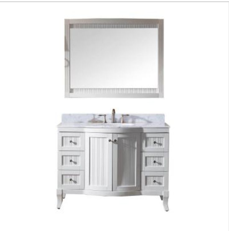 Image Gallery For Website Virtu USA inch Khaleesi single sink bathroom vanity sends off a flamboyant confidence of style The vanity offers two soft closing doors