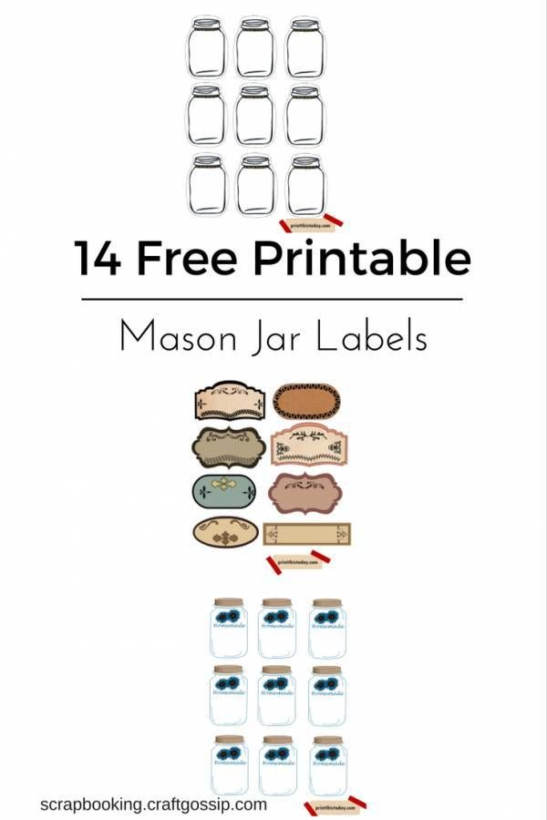 here are 14 free printable mason jar and canning labels tags sets most of which are easily. Black Bedroom Furniture Sets. Home Design Ideas