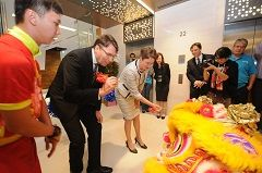New Singapore Office Officially Opened   Telstra Exchange