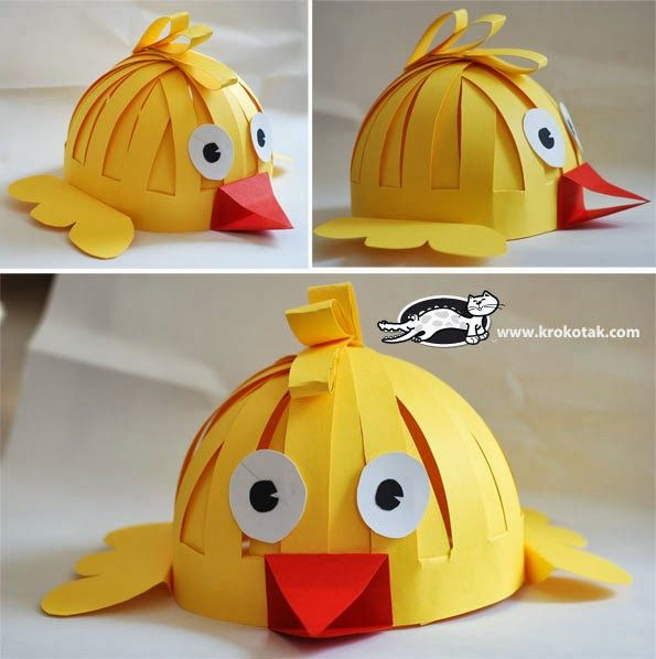 what a cute easter bonnet that would be!