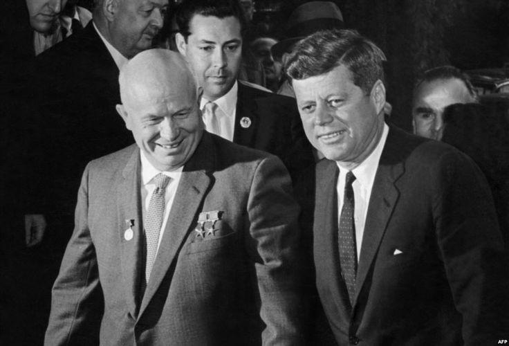 relationship between jfk and khrushchev