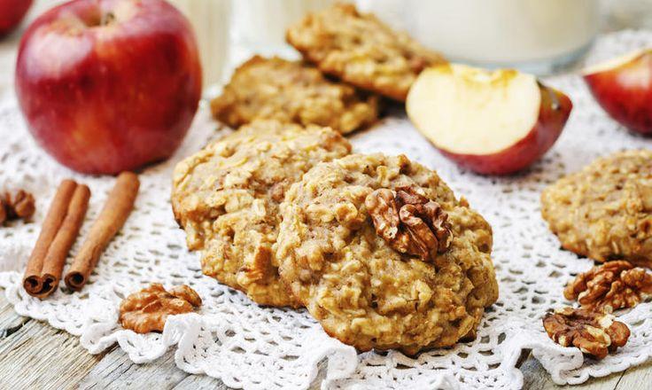 Jablečné sušenky bez přidaného cukru