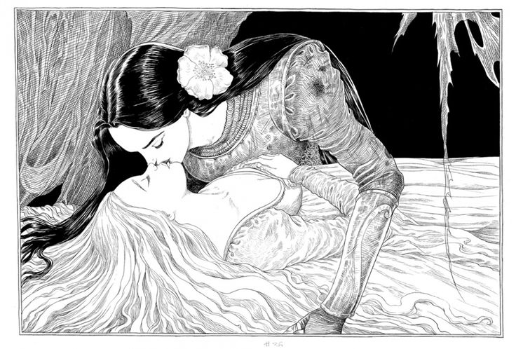 From the Edge Chronicles, to Goth Girl, to Ottoline to The Sleeper and the Spindle, revel in the illustrations of Chris Riddell, who has just been crowned children's laureate