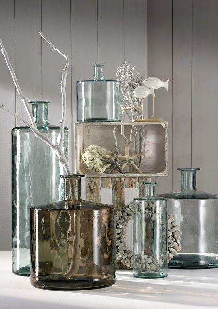 Vases of coloured glass | Leonardo