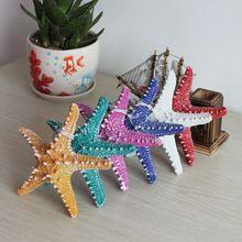 1 adet reçine derebeyi deniz yıldızı isteyenler şişe denizyıldızı çıkartmalar süsleme malzemesi oyuncak doğum günü süsleri renkli opsiyonel(China (Mainland))