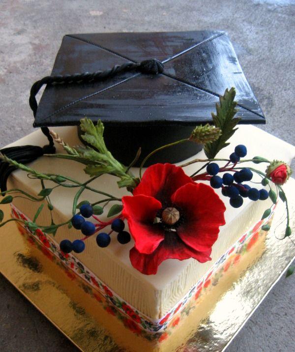 Promočná -  Graduation cake
