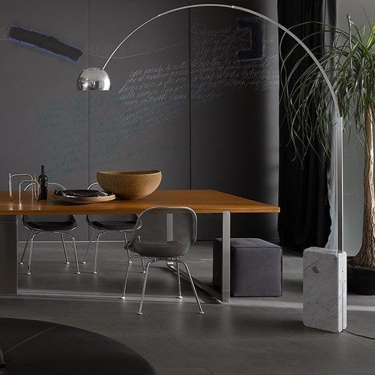 Arco, designed in 1962 by Achille and Pier Giacomo Castiglioni for Flos, is one of the finest, beautiful and elegant lamps in the history of lighting. http://www.blogforlight.com/lighting-ideas/arco-achille-pier-giacomo-castiglioni-lamp-artwork/