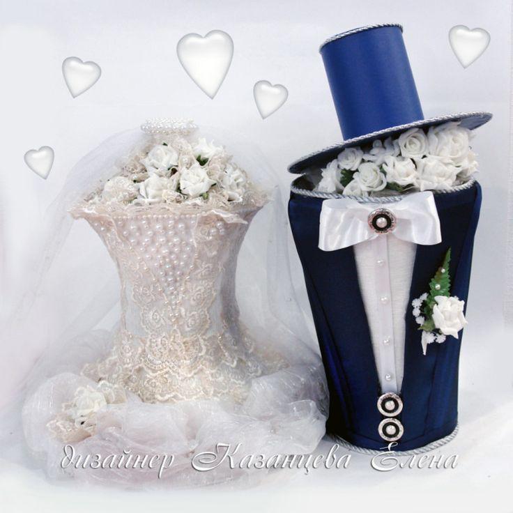 Gallery.ru / Фото #2 - свадебные бутылки - kazantceva