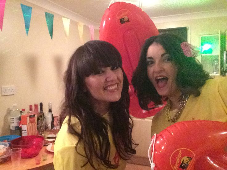 80's Baywatch fancy dress - Too much beer flowing!!!!! X