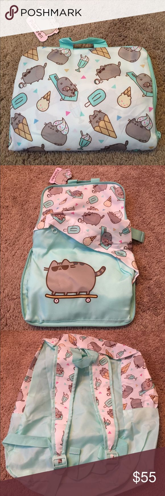 Pusheen Box Exclusive Backpack! BRAND NEW Pusheen Box Exclusive Backpack! Perfect for back to school or to store your Pusheen collectibles in. Pusheen Bags Backpacks