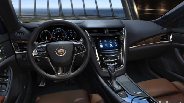 Interiors 2014 Cadillac CTS Vsport