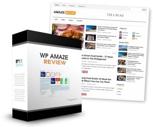 WP AmazeReview – what is it? WP AmazeReview is a new WordPress plugin that allows you to turn any regular WP blogs into a money making, authority affiliate website.