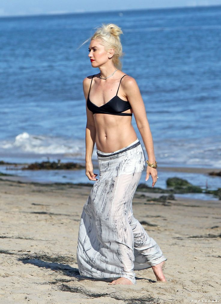 Gwen Stefani, 46...can I look like this at 46 please??