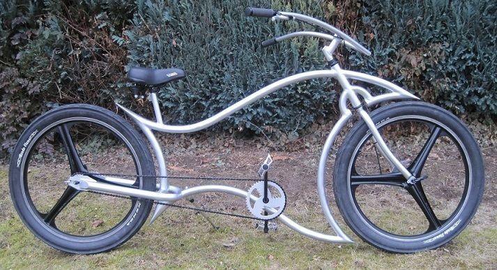 Custom Bicycle Beach Cruiser Custom Built Bike With 3