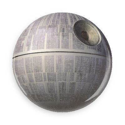 Death Star Pin Back Button