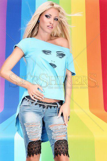 Bluza Ocassion Star Cover Blue