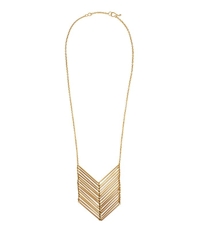 CHEVRON NECKLACE   Purpose Jewelry   (Purpose jewelry is handcrafted by survivors of modern-day slavery. 100% of the proceeds benefit International Sanctuary, a non profit that provides holistic care for young women rescued from sex trafficking.)