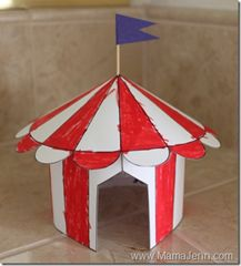 circus crafts and great website