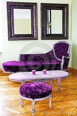 Purple & Modern!