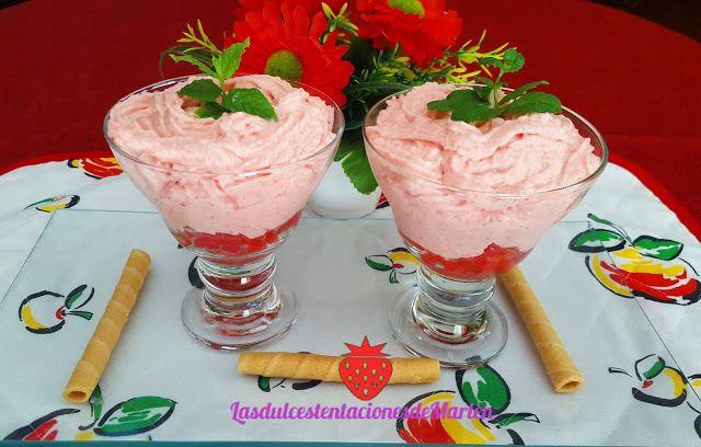 Las dulces tentaciones de Marlen: Mousse de Sandía
