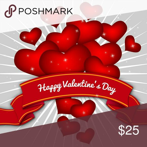 Wear Red for Valentine's Day ! Wear Red for Valentine's Day ! Free small box of Valentine's Candy with red purchase..... Other