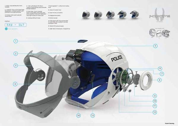 Forcite helmet on Industrial Design Served