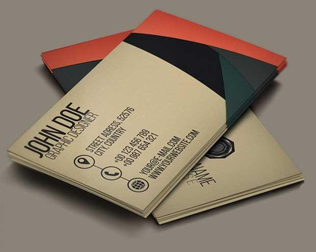 Ups Business Cards Templates 35 free psd business card mockups