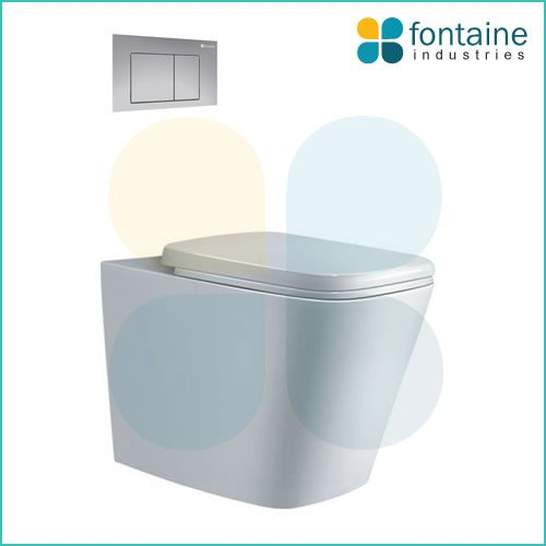 $549.00 Balmain in Wall Toilet | Fontaine Industries