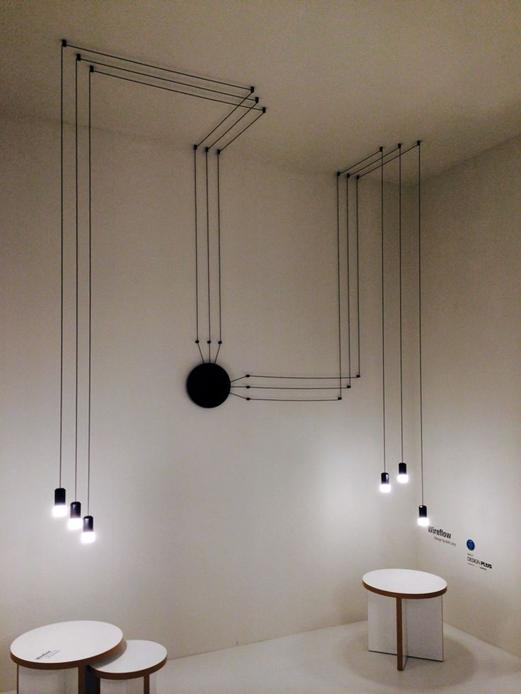 VIBIA Wireflow, creëer je eigen samenstelling van #licht bij #Eikelenboom