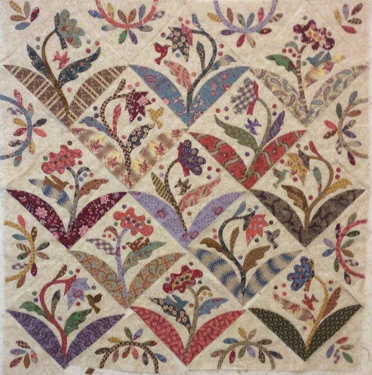 806 best quilts images on pinterest quilt patterns for Blackbird designs english garden