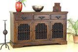Jali Sideboard - Indian Solid Sheesham Wood Furniture | Saraf Furniture