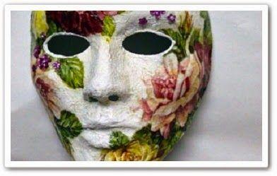 Как сделать маску - копию лица своими руками