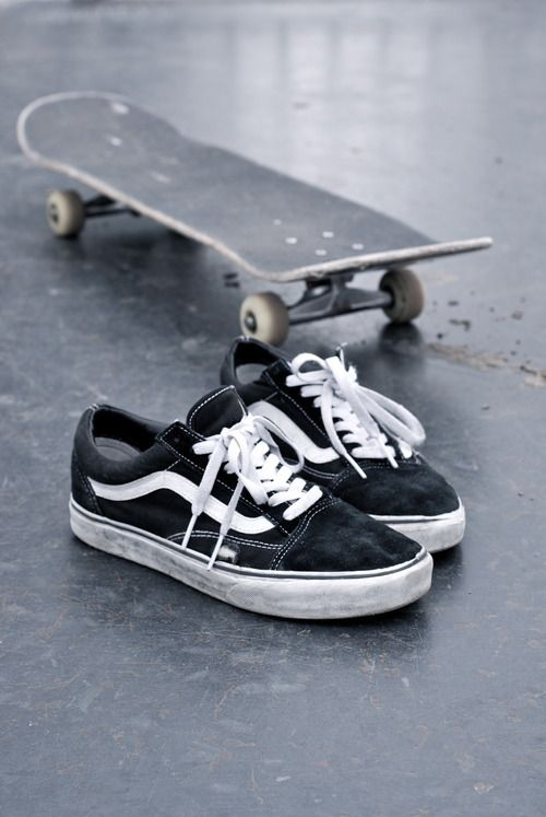 スケートとバンズ by pinterest
