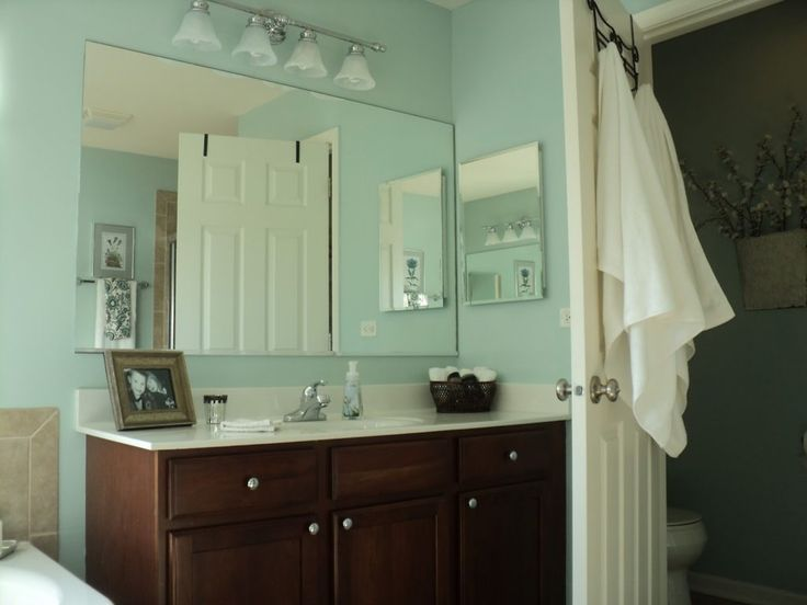 Green and brown bathroom decorating ideas