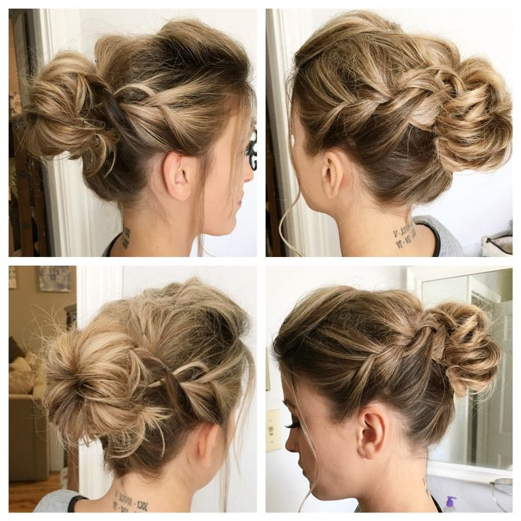 Special Occassion Style by Stylist Brittany ❤️.   #BBBeauty #BBHair #redken #updo #blondehairdontcare #loveyourhair #specialevent #braids
