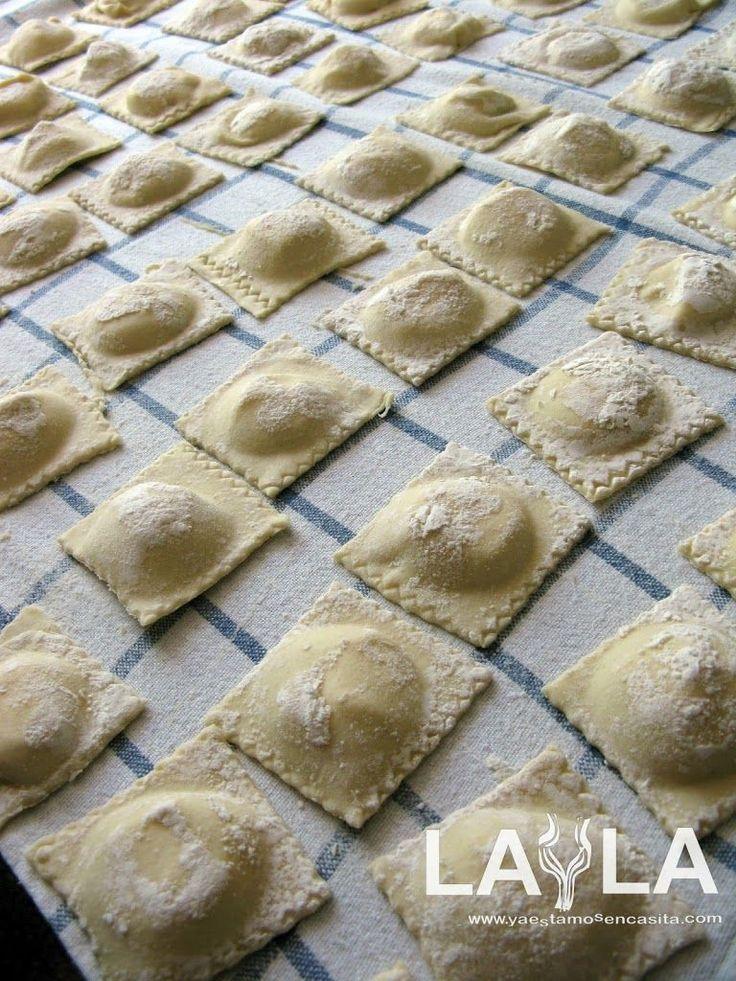 Para mí los ravioli son la más deliciosa versión de la pasta fresca, en ellos se combina esa especial cualidad de la pasta fresca…