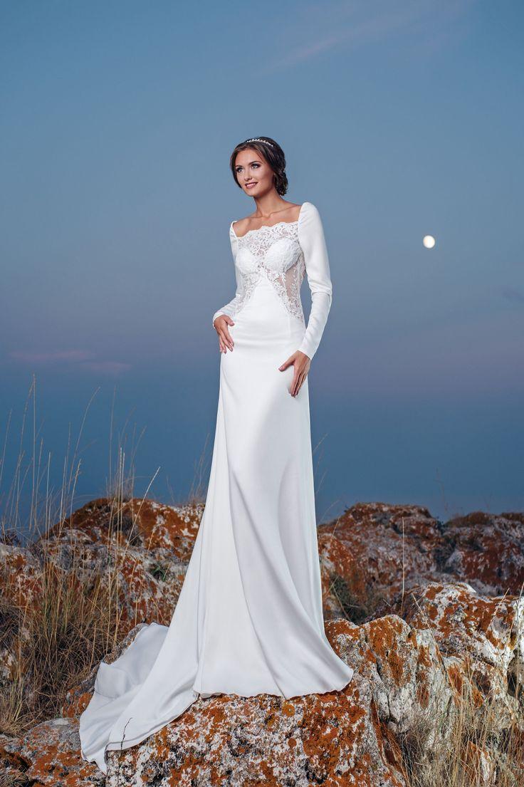 Luxusné priliehavé svadobné šaty