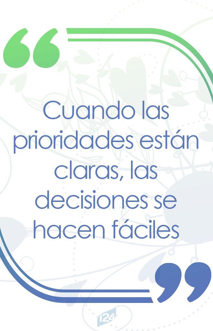 Todo es cuestión de prioridades #motivación #motivation #frases
